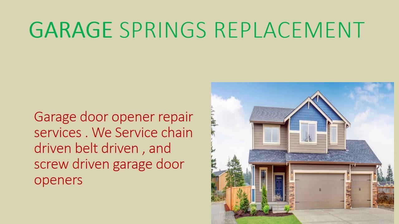 Herrods Spring Replacement   Herrods Spring Replacement In Cedar Park TX. Garage  Door Repairs