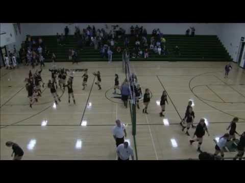 Volleyball 2015 - Varsity, New London vs West Burlington