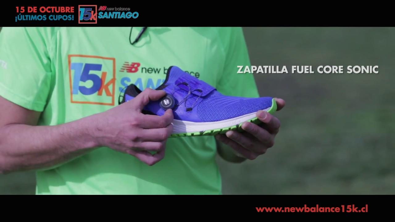 Óxido bobina sirena  Cómo amarrar tus zapatillas en la corrida New Balance 15K? - YouTube