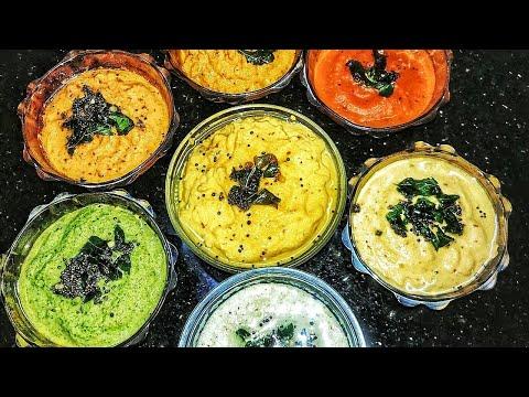 7 Chutney Recipe in Tamil|Varieties Chutney Recipes in Tamil|Chutney Varieties in Tamil