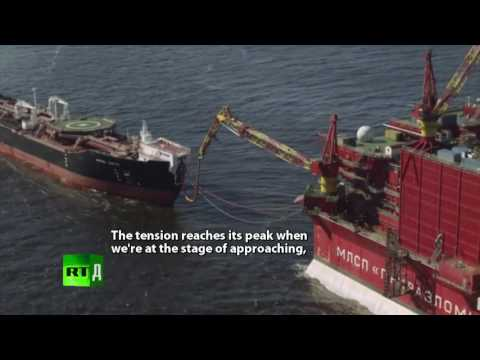 Cold Rush. Drilling For Oil Amid Arctic Ice