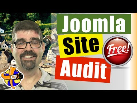 MyJoomla.com Free Site Audit Tutorial - How To Scan Your Joomla Site For Viruses And Hacks.