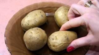 Картошка за 6 минут в микроволновке