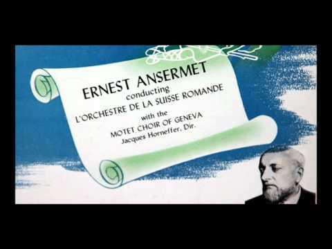 Ravel / Ernest Ansermet, 1958: Daphnis et Chloé (Part 1) - L'Orchestre De La Suisse Romande