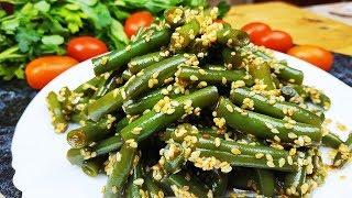 Роскошный салат со стручковой фасолью с неповторимым и ярким вкусом!