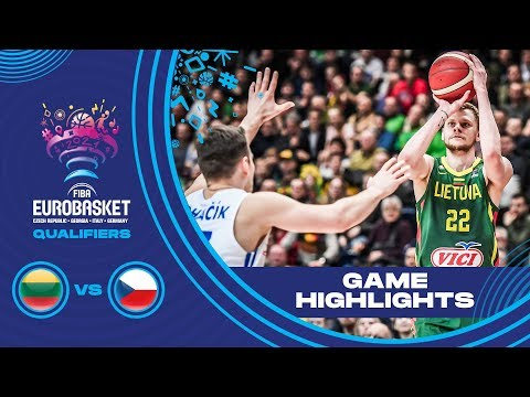 Lithuania v Czech Republic - Highlights - FIBA EuroBasket 2021 - Qualifiers
