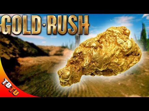 THE BIGGEST GOLD NUGGET EVER! Gold Rush The Game Gameplay E2
