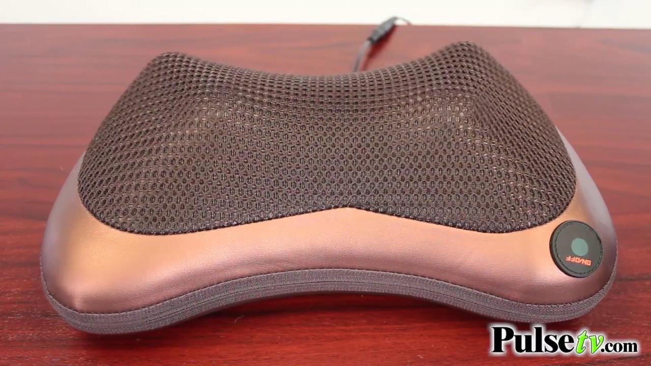 heated shiatsu massage pillow