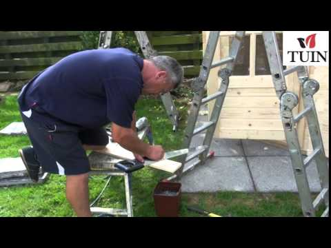 Fitting Bargeboards on Pyramid Roofs