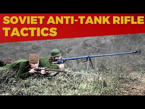 Soviet Anti-Tank Rifle Tactics Of WW2