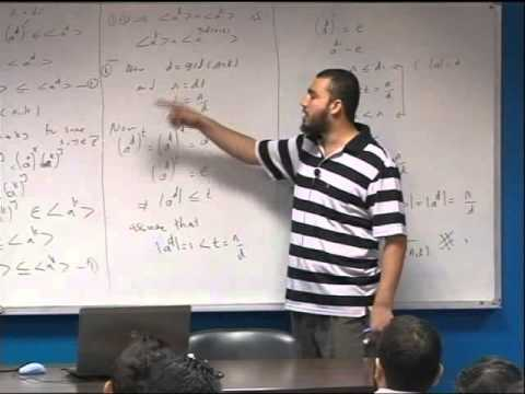 Lecture 20: Chapter 4: Cyclic Groups -2