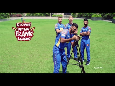 The Rajasthan Royals join the Kingfisher Indian Prank League | Mirror Prank
