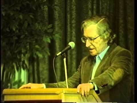 Noam Chomsky  on Democracy and Human Rights