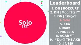 Agar.io - Playing Solo in Party Mode - 23k Score