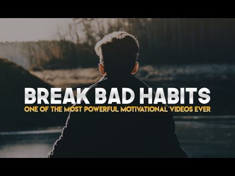 Listen To This Every Morning Break Bad Habits Morning Motivation