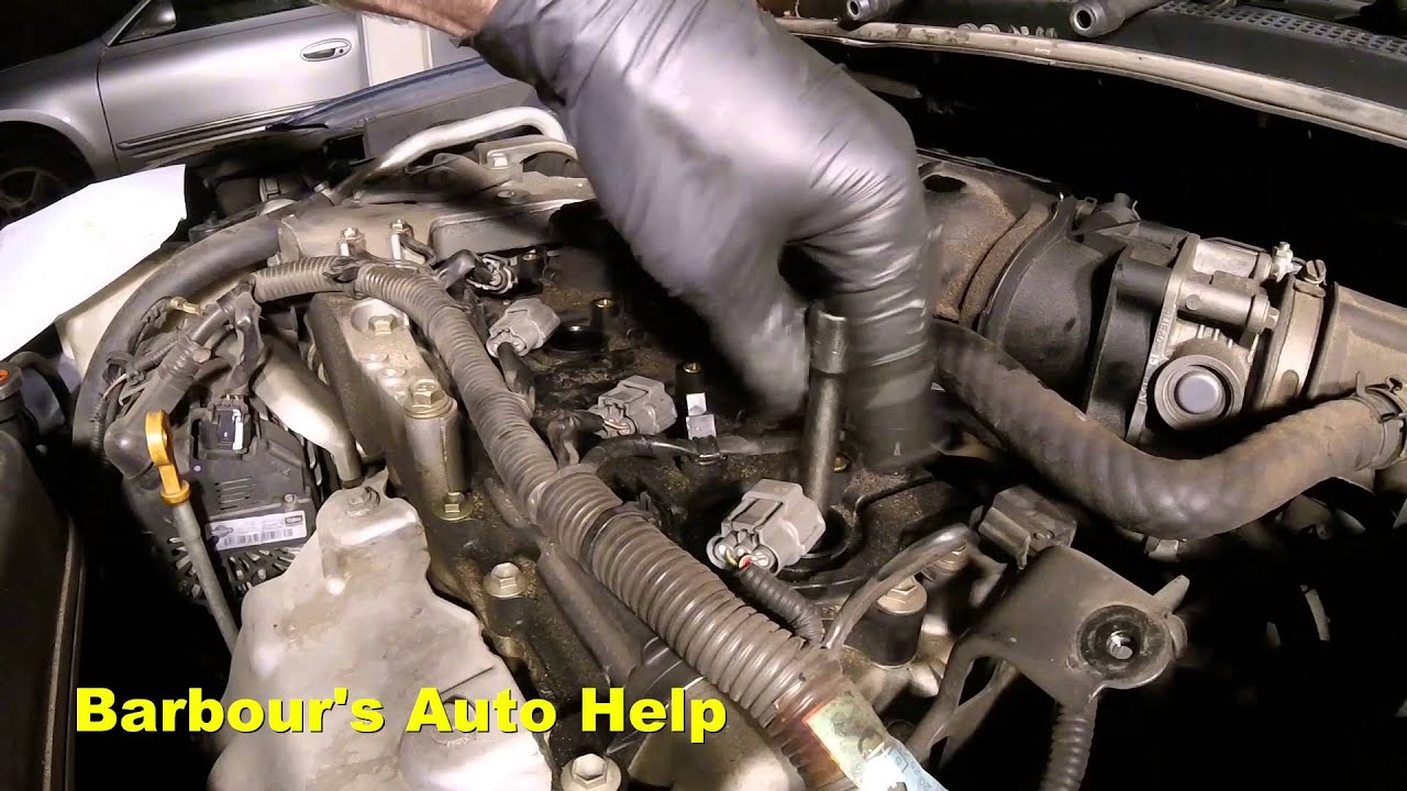 07 Nissan Altima 2.5L Spark Plug and Ignition Coil ...