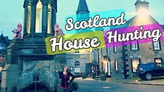 Gambar cover House Hunting in Scotland!   Glasgow, Falkirk, East Killbride, Falkland