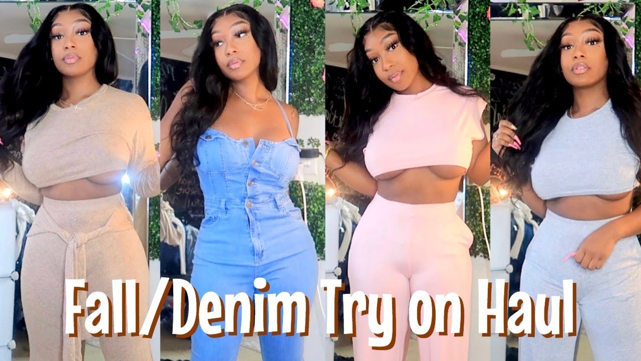 Huge Fashion Nova  Denim/ Fall HAUL | TRY ON HAUL 2020