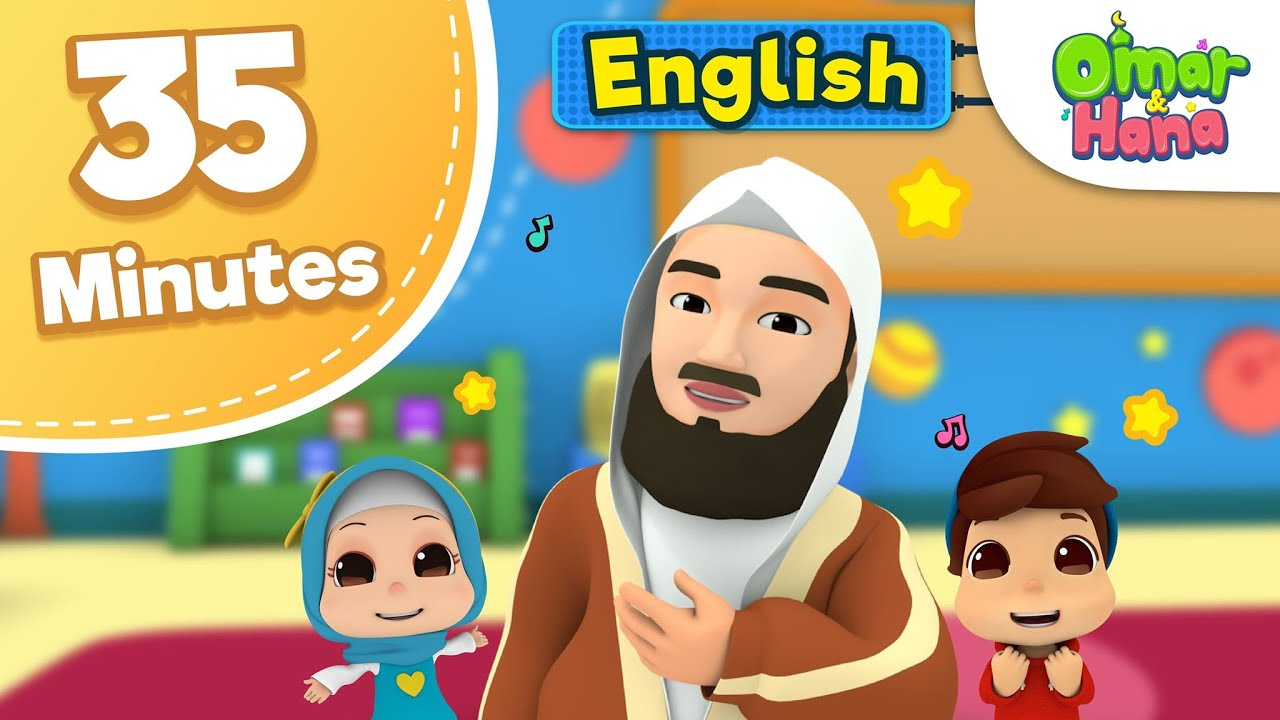 Omar & Hana | Mufti Ismail Menk & More compilation | Islamic Cartoon
