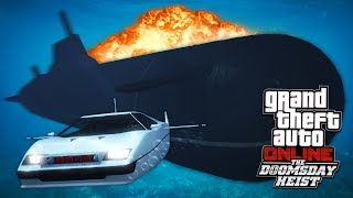 NUCLEAR SUBMARINE HEIST!! (GTA 5 Doomsday Heist)