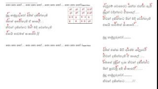 Budu Hamuduruwo Apith Dakinnathi Lyrics with Guitar Chords