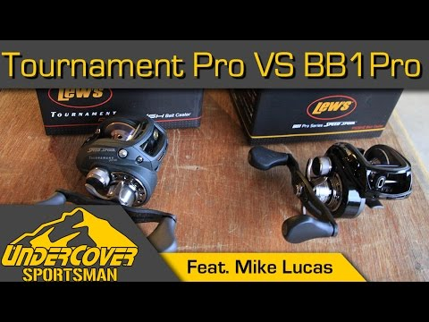Lew's BB1 Pro vs.Tournament Pro-Bait Casting Reel Review