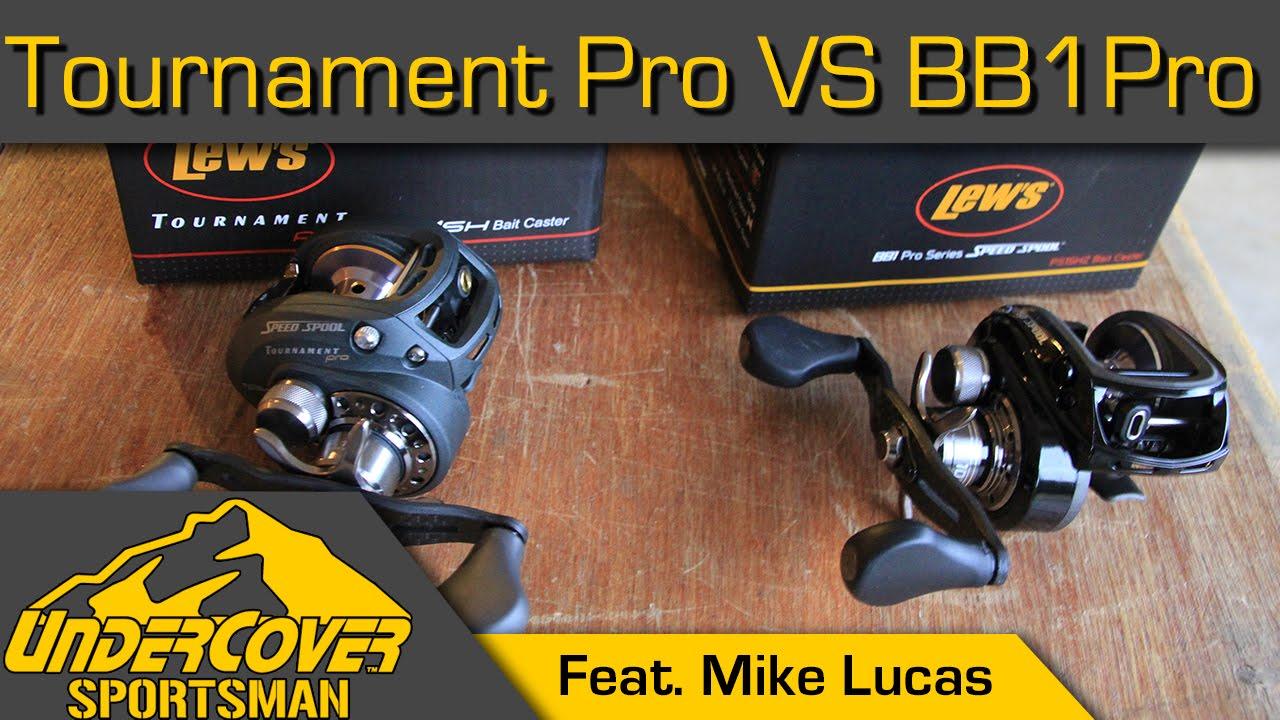 Lew S Bb1 Pro Vs Tournament Pro Bait Casting Reel Review
