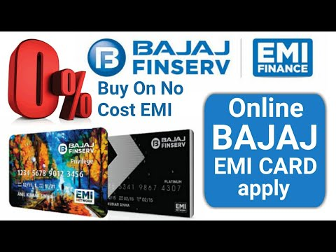 Apply Bajaj Finance EMI Card online | No cost EMI | Easy EMI & Digital EMI Card fully explain