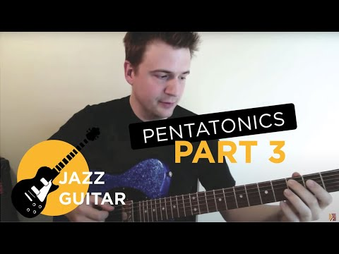 Jazz Guitar Lesson: Pentatonics Part 3 - Patterns for Jazz Guitar Improvisation