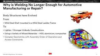 3M Webinar: Enabling Advances in Automotive Repair and Light-Weighting