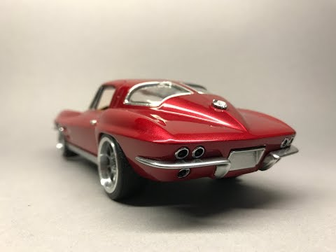 Revell: Chevrolet Corvette 1963 C2 Stingray Full Build Step by Step