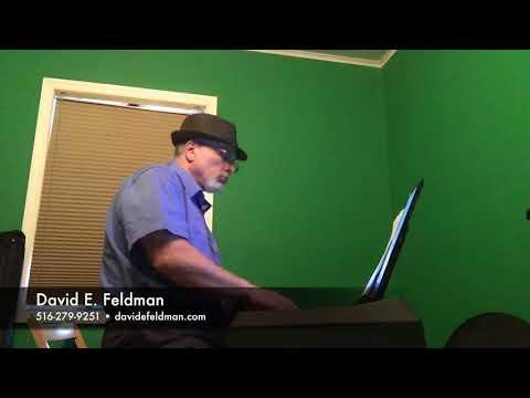 Ain't She Sweet Alice In Wonderland -  David E.  Feldman,  Jazz, Blues Piano