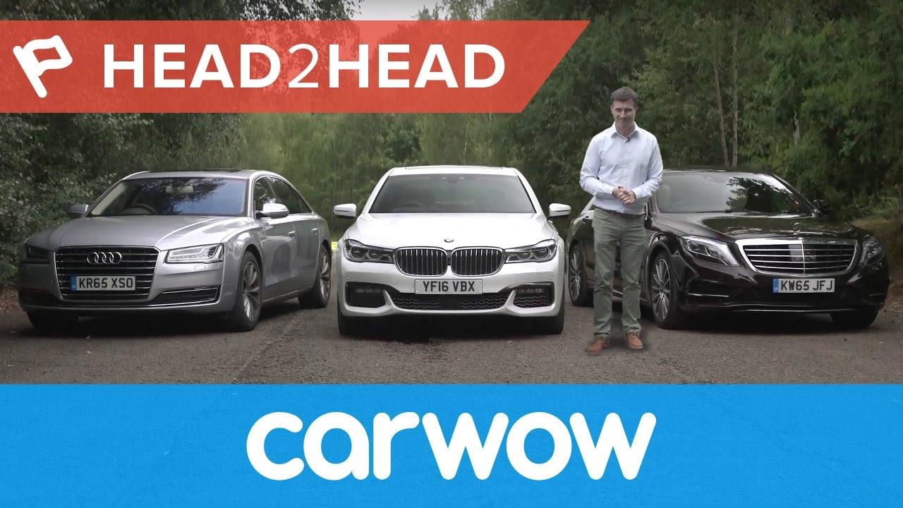 BMW 7 Series vs Mercedes S-Class vs Audi A8 2017 | Head2Head - YouTube