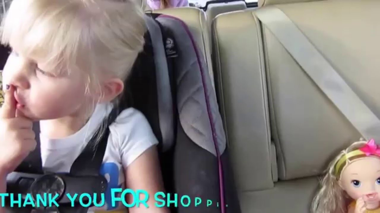 Baby Alive Darci Goes Shopping With Elsa Doll Outing