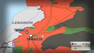 9 января 2017. Военная обстановка в Сирии. Боевики сдаются в Вади Барада. Русский перевод.
