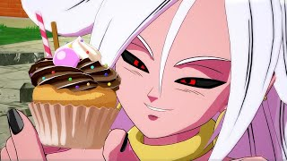 Dragon Ball FighterZ - Android 21 Full Match Gameplay