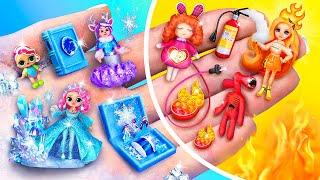 Горячие и холодные миниатюрные куклы - 10 идей