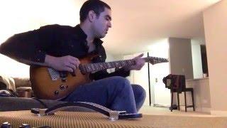 Zero 7 Give It Away Guitar Solo Improvising