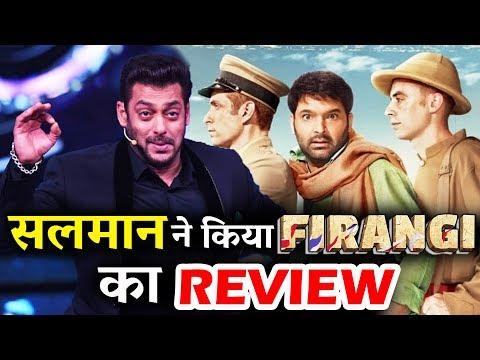 Kapil Sharma's Firangi Movie Review By Salman Khan