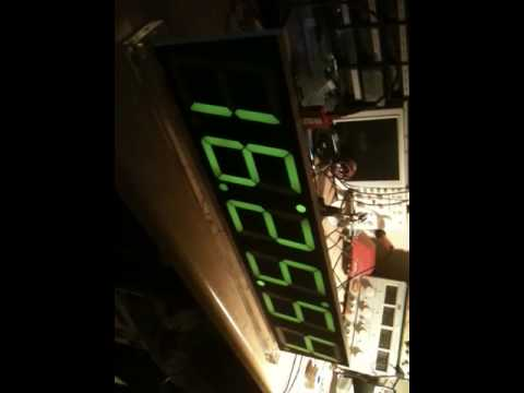 Pretty Accurate Digital Wall Clock