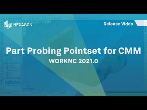 Part Probing Pointset - CMM | WORKNC 2021.0