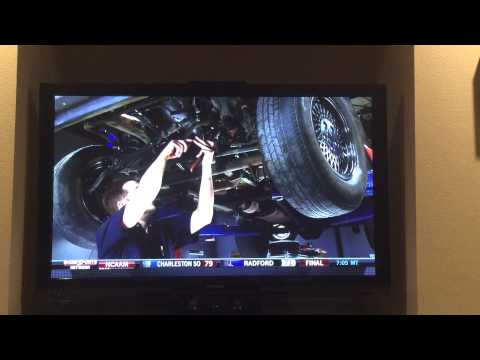 Testing rod ends with a channel lock pliers on Truck Tech/Powernation