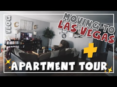 Moving from SD to NV VLOG : Las Vegas Apartment Tour | Chelsea Louder