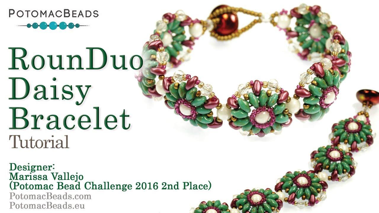 Rounduo Daisy Bracelet Design Tutorials 2nd Place Pbc