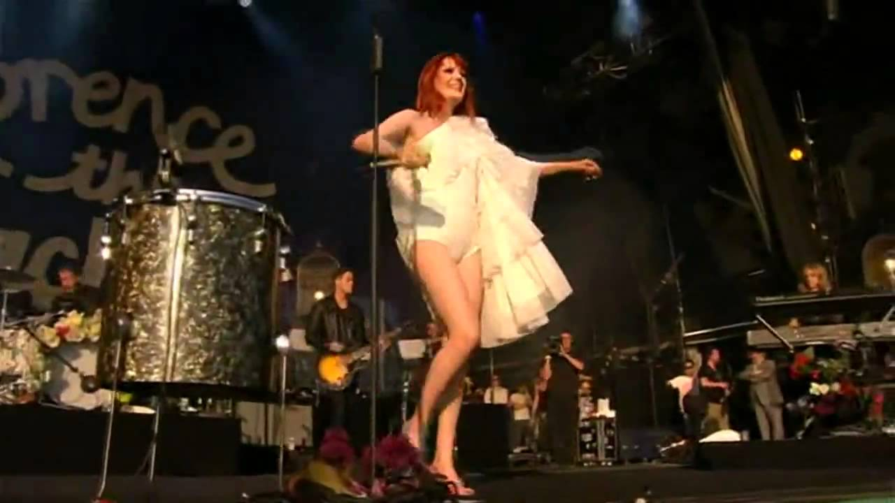 Florence The Machine Dog Days Are Over Live On Letterman