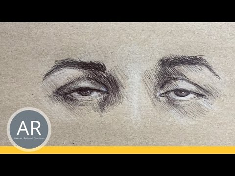 Augen zeichnen lernen. Emotionen vermitteln, 3 von 6. Mappenkurs Illustration