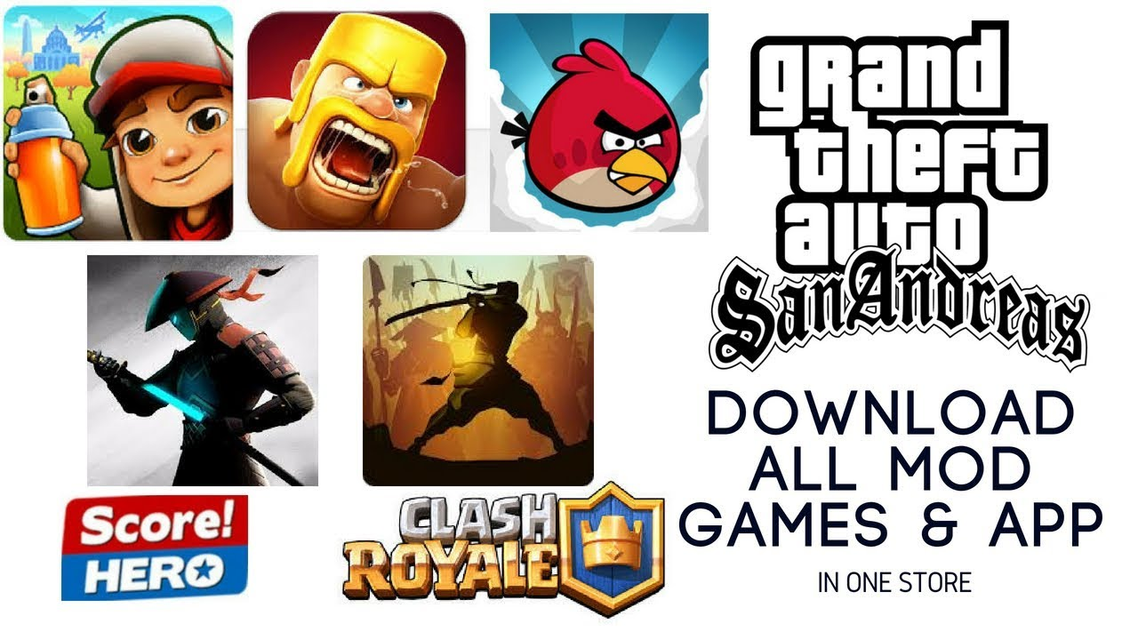 How to Download All Mod Games & Apps In One Store (With Proof)