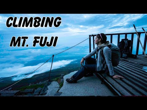 Climbing Mt Fuji PART ONE: The Hike Up Fuji Mountain Begins & Yes, It's Difficult!