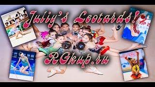 видео костюмы для художественной гимнастики для выступлений