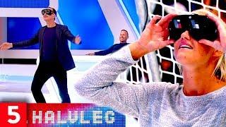 Fuldemands- fodbold med Jesper Skibby og Pernille Harder | 5. Halvleg | Kanal 5